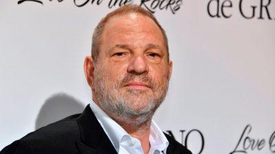 """Weinstein lässt über Anwälte Herausgabe von """"explosivem Material"""" verhindern"""