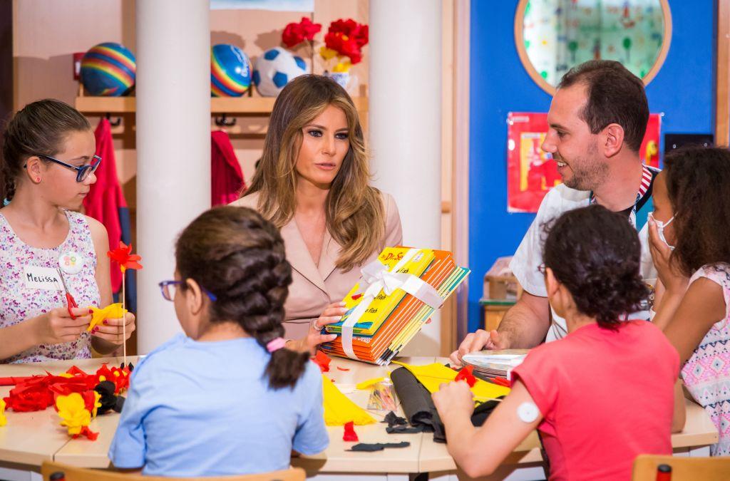 Melania Trump: Bibliothekarin lehnt Geschenk an Grundschüler wegen politischer Korrektheit ab