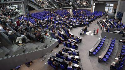 Sitzordnung im neuen Bundestag weiter strittig: FDP beharrt auf Platz in der Mitte