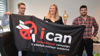 Nobelpreise werden verliehen – Friedenspreis für Kampf gegen Atomwaffen