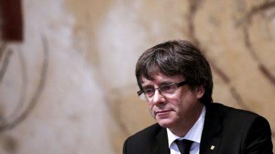 Kataloniens Ex-Regionalpräsident Puigdemont von Europawahl ausgeschlossen