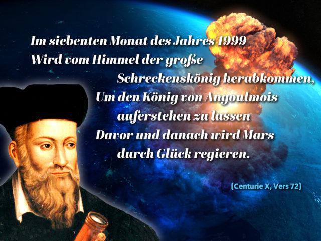 Nostradamus Vorhersagen 3 Weltkrieg