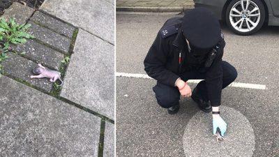 Polizisten in London entdecken außergewöhnliches Baby – Mama überglücklich, es wieder zu haben