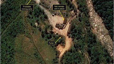 Einsturz in Nordkoreas Atomtest-Anlage soll 200 Todesopfer gefordert haben