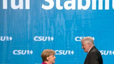 Merkel und Seehofer wollen Zoff um Obergrenze lösen