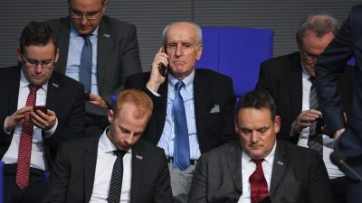 AfD will Glaser erneut als Bundestags-Vizepräsident vorschlagen
