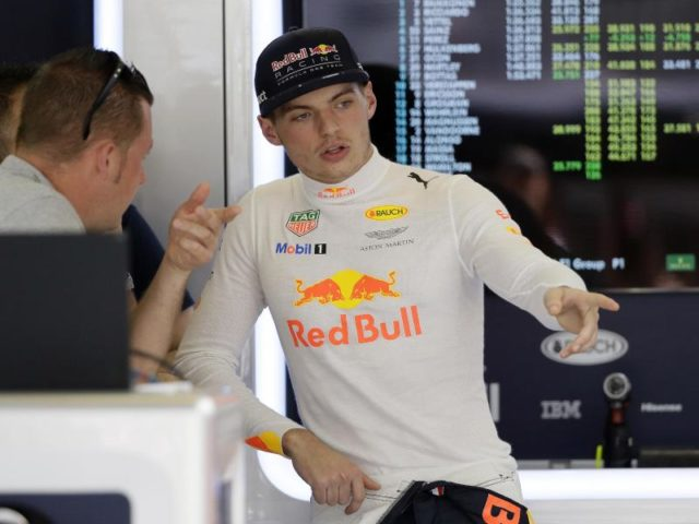 Hat sich für seine Wortwahl in Austin entschuldigt: Red-Bull-Pilot Max Verstappen. Foto: Tony Gutierrez/dpa