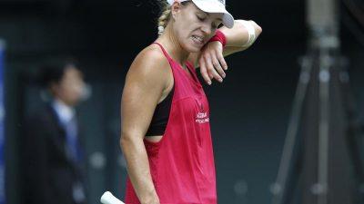 Kerber mit Auftaktniederlage bei B-WM der Tennis-Damen