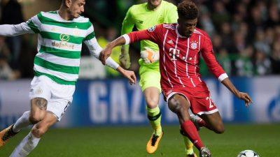Bayern München macht im Celtic Park Achtelfinale klar