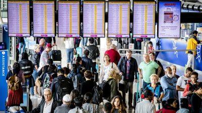 Technische Störung am Amsterdamer Flughafen – Behinderungen im Flugverkehr