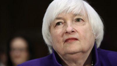 """Yellen warnt vor """"historischer Finanzkrise"""" und """"wirtschaftlicher Katastrophe"""""""