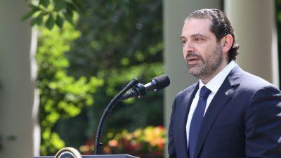 "Libanons Ex-Regierungschef: Hisbollah und Iran haben im Libanon ""Staat im Staat"" geschaffen"