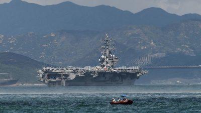 """""""US-Flugzeugträger zur Einschüchterung versenken!"""" – Vorschlag eines chinesischen Konteradmirals"""