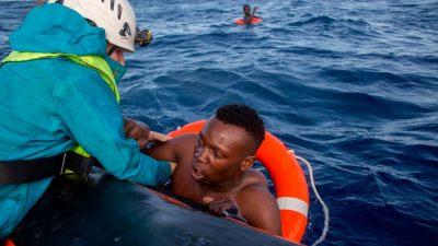 """NGO-Schiff """"Sea Watch 3"""" darf im Mittelmeer wieder illegale Migranten einsammeln"""