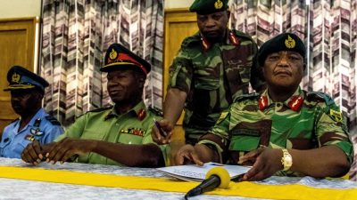 Simbabwe: Hat China dem Militärputsch gegen Mugabe vorher zugestimmt?