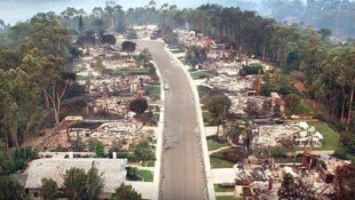Offizielle Version: Geoengineering gibt es, Chemtrails nicht und – Feuer, die Häuser pulverisieren, aber Bäume verschonen