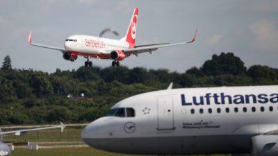 Lufthansa will für Air-Berlin-Übernahme Start- und Landerechte abgeben