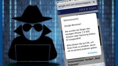 In eigener Sache: Aktueller Angriff auf die Epoch Times – Update mit Lösungstipps