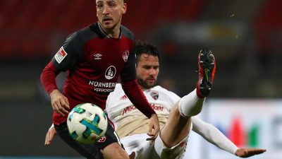 Nürnberg büßt dritten Platz ein – 1:2 gegen Ingolstadt