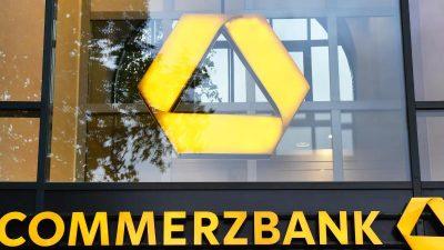 Durchsuchung bei der Commerzbank: Steuerhinterziehung bis zu 40 Millionen Euro