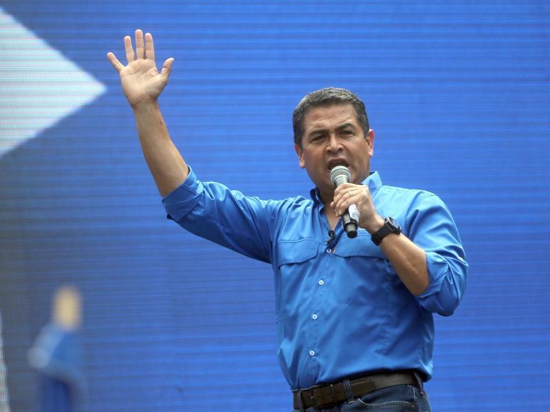 US-Justiz: Honduranischer Präsident in Drogenschmuggel in die USA verwickelt