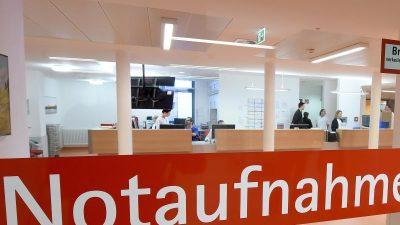 Uniklinik Düsseldorf: Clan-Männer veranstalten Tumult in Notaufnahme
