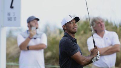 Tiger Woods beim Comeback mit guter Startrunde