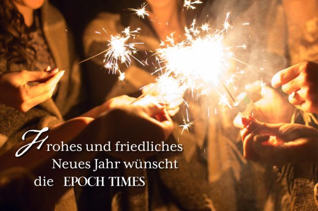 EPOCH TIMES wünscht ein frohes neues Jahr – Wir bedanken uns für Ihr ...