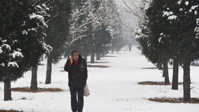 Kälte und Alarmstufe 2 in Peking: Haushalte mussten auf Gasheizung umstellen – jetzt wird das Gas knapp