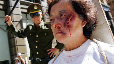 Wegen Praktizieren von Falun Gong – Chinesin 9 Jahre lang inhaftiert und mit Chemikalien verätzt