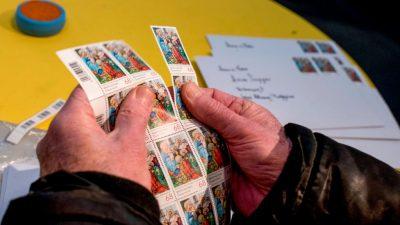 Postamt in Christkindl stempelt wieder Millionen Weihnachtsbriefe