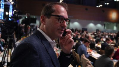 CSU-Dobrindt erwartet Beobachtung von AfD-Politikern durch Verfassungsschutz