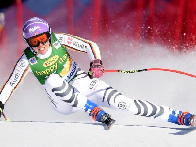 Viktoria Rebensburg kommt beim Super-G in Lake Louise nicht in die Top Ten. Foto:Frank Gunn/dpa
