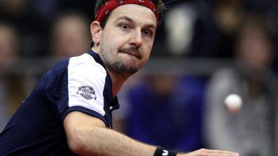 Timo Boll ist Welt-Tischtennis-Spieler des Jahres