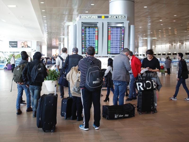 Alle Flüge zum Flughafen in Tel Aviv wegen Raketenbeschuss umgeleitet