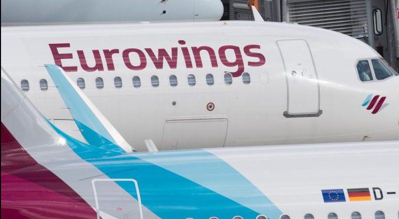 Verdi verkündet Einigung mit Eurowings auf neues Krisenpaket