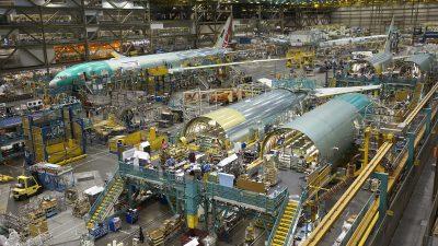 Flugzeugverkauf und Steuerreform sorgen für Rekordgewinn bei Boeing