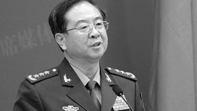 Xis Antikorruptionskampagne: Chinas Ex-Generalstabschef Fang Fenghui in U-Haft