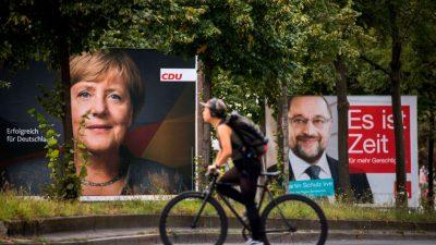 Schweigegelübde für Sondierungszeit: Union und SPD vereinbaren größtmögliche Vertraulichkeit