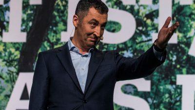 """Özdemir kandidiert nicht für Fraktionsvorsitz der Grünen: """"Ich habe erkennbar keine Mehrheit"""""""
