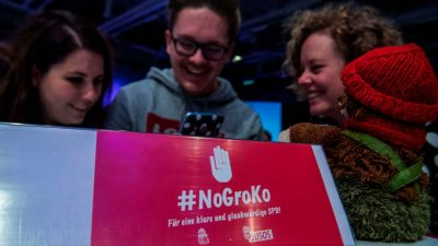 """""""NoGroKo""""-Verein in der SPD: """"GroKo stärkt die Rechten – und schwächt Sozialdemokratie"""""""