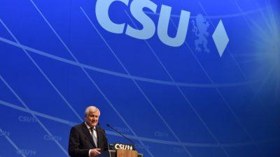 CSU will große Koalition mit bürgerlich-konservativen Anstrich: SPD soll inhaltlich nicht überziehen