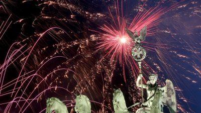 Silvester-Countdown: Berlin wünscht ein Frohes Neues Jahr!