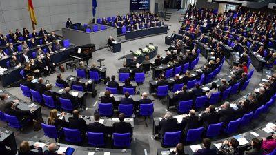 Bundestag gedenkt der Opfer des National-Sozialismus