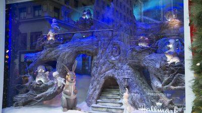 Weihnachtszeit in New York – Zauberwelt der Schaufenster