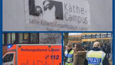 Lünen/NRW: Tödliche Messer-Attacke an Gesamtschule – 15-Jähriger sticht Mitschüler (14) nieder
