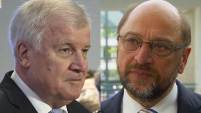 """Schulz zu Seehofer: """"Wenn das schiefgeht, ist meine politische Karriere zu Ende"""""""