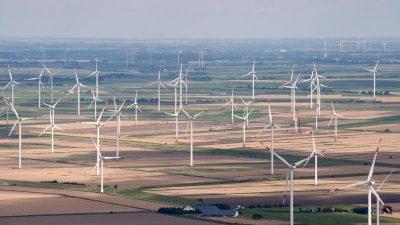 """Angst vor einem """"Kahlschlag"""" in der Windkraft-Branche"""