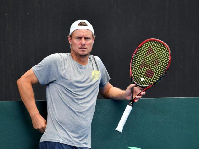 Lleyton Hewitt erwägt einen Einsatz im Davis-Cup-Doppel gegen Deutschland. Foto: Darren England/dpa