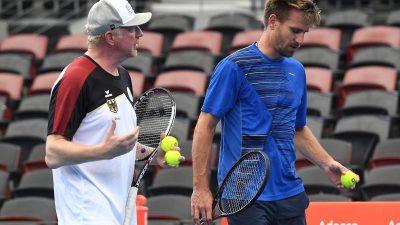 Deutsches Davis-Cup-Team will ins Viertelfinale